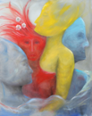 Love of live, 2014, oil on canvas, 100cm x 80cm